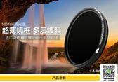 品色 37mm ND2-ND400 ND鏡 可調減光鏡 中灰密漸變度鏡 無極可變 MKS薇薇