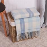 海水藍舒柔蓋毯150*180-生活工場