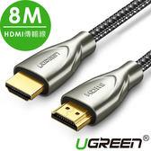 現貨Water3F綠聯 8M HDMI傳輸線 Carbon fiber Zinc alloy版 發燒級