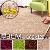 160x120cm絲毛地毯.超細緻絲柔地毯.腳踏墊防滑墊止滑墊.遊戲墊遊戲地軟墊瑜珈運動墊.野餐地墊