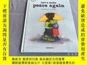 二手書博民逛書店Let罕見s make peace again 16開精裝本Y8