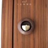 【小圓蛋門鈴】純銅磁吸掛飾風鈴喬遷禮物日式開門提示響掛件鈴鐺 樂事館新品