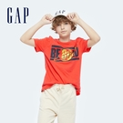 Gap男童 活力純棉印花短袖T恤 697885-紅色
