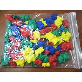 《 USL遊思樂教具 》數字砝碼熊 3 / 6 / 9 / 12 g ( 96 pcs ) / JOYBUS玩具百貨