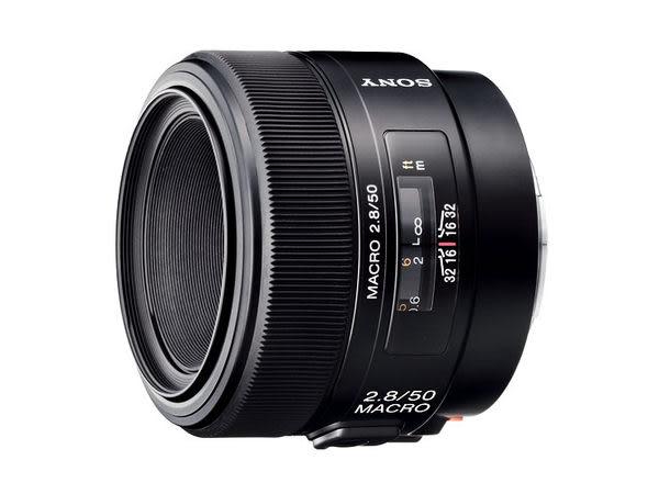 【震博】Sony 50mm F2.8 Macro 微距鏡頭 (分期0利率;台灣索尼公司貨)