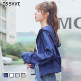棒球服薄外套原宿風韓版學生bf短款風衣潮