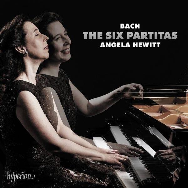 【停看聽音響唱片】【CD】巴哈:六首組曲,作品BWV825~830 安潔拉.休薇特 鋼琴