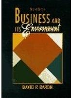 二手書博民逛書店《Business and its environment》 R