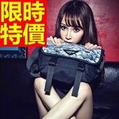 尼龍側背包(大)-百搭可肩背大容量設計男女郵差包1色57b4【巴黎精品】