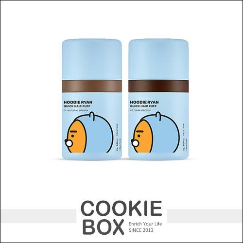 韓國  THE FACE SHOP X RYAN 染髮氣墊 噗噗 7g 髮際線 髮線 髮粉 補色 黑棕 聯名 *餅乾盒子*