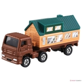 【 TOMICA 火柴盒小汽車 】TM089 ISUZU 拖車屋貨號  /   JOYBUS玩具百貨