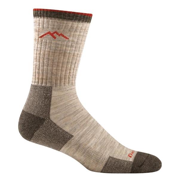 [好也戶外]DARN TOUGH 男登山健行厚款羊毛襪 HIKER No.1466 小麥褐(OATMEAL)