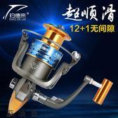 捲線器13軸全金屬頭漁輪魚線輪紡車輪魚輪海竿輪磯釣輪路亞輪 SDN-2054