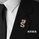 中國風復古龍胸針徽章男韓版簡約衣服裝飾領針西裝別針式胸花配飾 聖誕交換禮物