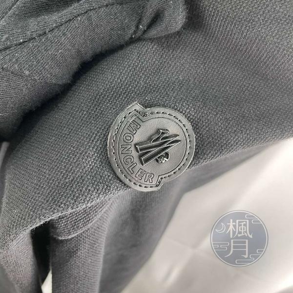 BRAND楓月 MONCLER 黑色 經典 紅藍白 線條 連帽外套 #2 拉鍊 保暖 防寒 服飾 流行 時尚