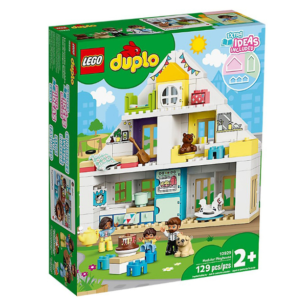 10929【LEGO 樂高積木】Duplo 得寶幼兒系列 -模組玩具屋(129pcs)