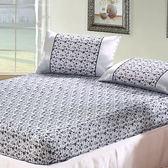 絲緞雙人加大床包三件組蜜語戀人