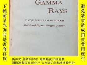 二手書博民逛書店cosmic罕見gamma rays(P405)Y173412