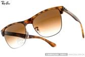 RayBan 太陽眼鏡 RB4175 87851 (琥珀) 潮時尚個性眉框設計款 # 金橘眼鏡