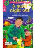 二手書博民逛書店《A Quiet Night Out (Read with La