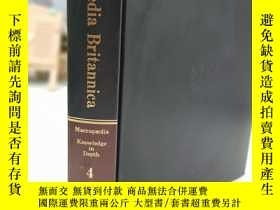 二手書博民逛書店encyclopaedia罕見britannica macropaedia knowledge in depth