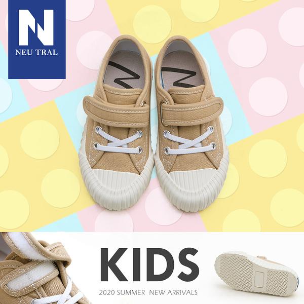 休閒鞋.奶茶色防潑水餅乾鞋(卡其)-KID-FM時尚美鞋-NeuTral.Refresh