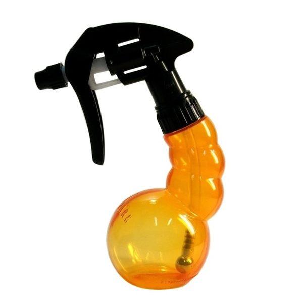 日本 YS 造型空瓶 黃橘色  容量220 cc     日本原裝進口