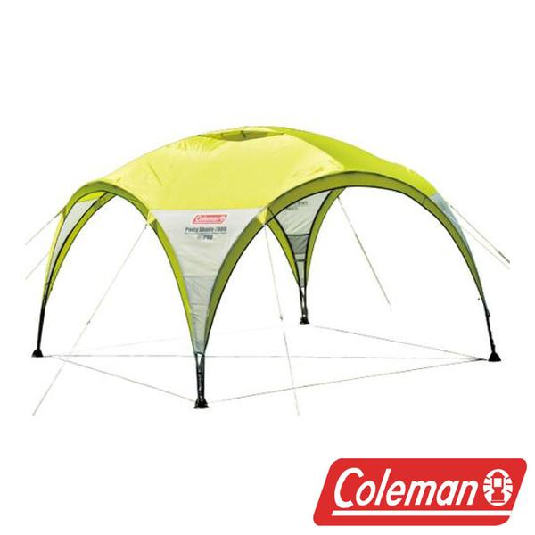 Coleman 萊姆綠派對遮陽帳 / 300  CM2879J  戶外|露營|帳篷|天幕帳