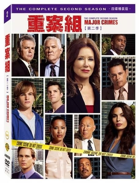 重案組 第二季 DVD 四片裝 歐美影集 (購潮8)