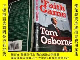 二手書博民逛書店原版英法德意等外文罕見Faith in the Game lessons on football,work,and