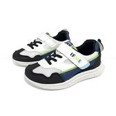 《7+1童鞋》中童 日本IFME 機能輕量 運動鞋 D494 藍色