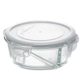 分隔耐熱玻璃保存容器 880ml 圓形 NITORI宜得利家居