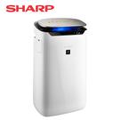 [SHARP 夏普]19坪 自動除菌離子空氣清淨機 FP-J80T-W【端午限時特惠】