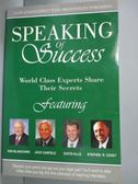 【書寶二手書T2/勵志_YDP】Speaking of Success_ Ken Blanchard