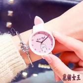 櫻花手表女初中小學生可愛軟妹日系粉色小清新百搭IP3031【花貓女王】