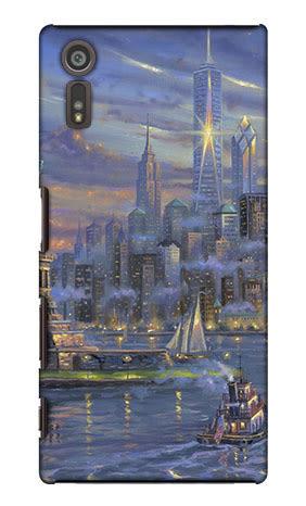 Sony Xperia XZ F8332 XZs G8232 手機殼 硬殼 紐約 曼哈頓