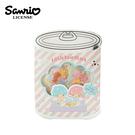 【日本正版】雙子星 罐頭造型 貼紙包 手帳貼 貼紙 KIKILALA 三麗鷗 Sanrio - 000335