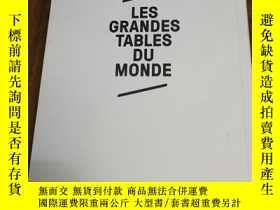 二手書博民逛書店LES罕見GRANDES TABLES DU MONDEY128
