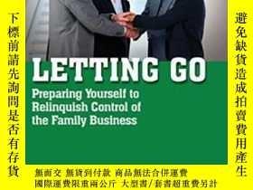 二手書博民逛書店Letting罕見Go: Preparing Yourself To Relinquish Control Of