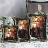 金屬相框 4寸6寸7寸10寸金屬相框 生活婚紗照相架創意擺台 影樓照片框【1件免運】
