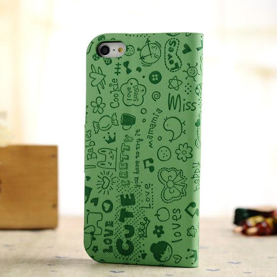 5S免運  韓國小魔女iPhone 5/5S代皮套 5G支架皮套 手機皮套 保護殼