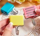 【磁鐵掛鉤】 超強魔力吸鐵磁性無痕掛勾 廚房冰箱微波爐強力磁鐵糖果色掛勾