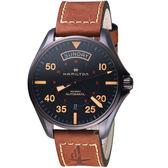 Hamilton漢米爾頓卡其航空系列DAY DATE AUTO機械腕錶   H64605531