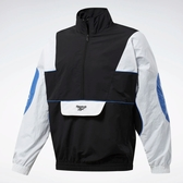 REEBOK CLASSICS ANORAK 男裝 外套 立領 防風 保暖 白 黑【運動世界】FJ3177
