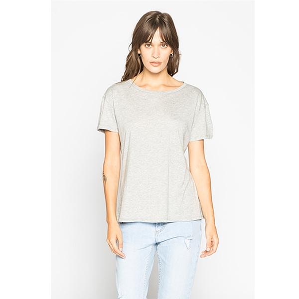 LIRA SOLID CREW NECK TEE T恤 - 灰
