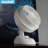 空氣循環扇 家用渦輪風扇對流風扇台式換氣電風扇 igo 黛尼时尚精品
