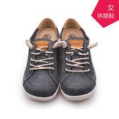 【A.MOUR 經典手工鞋】舒適休閒鞋 - 藍 / 休閒鞋 / 進口小牛皮 / 舒適鞋 / DH-7863