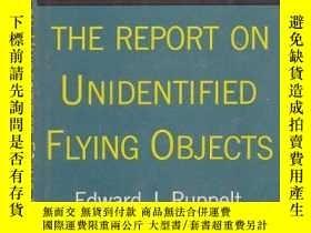二手書博民逛書店B00005XSPU罕見The Report on Unidentified Flying Objects-B00