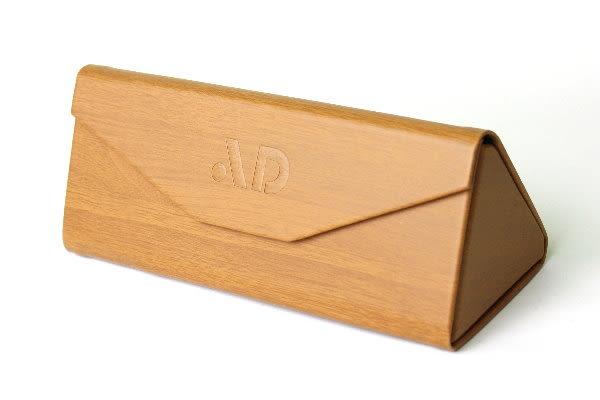 太陽眼鏡專用創新設計超質感三角形可折疊眼鏡盒-三角眼鏡盒
