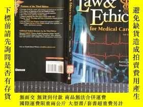 二手書博民逛書店Law罕見& Ethics For Medical Career